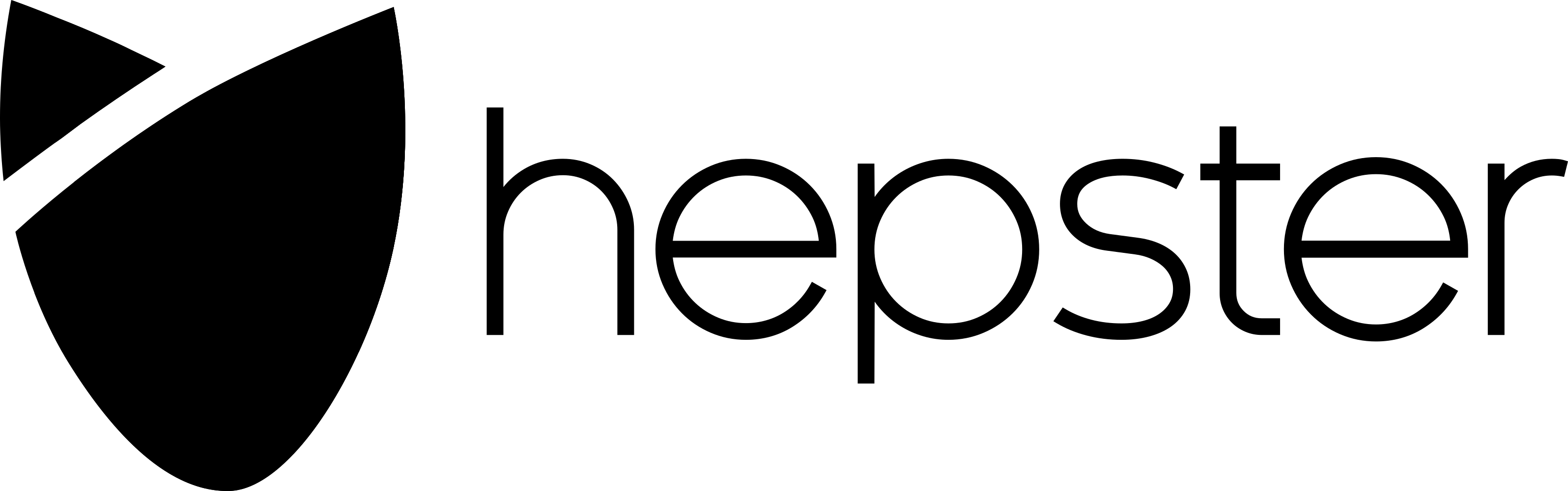 Logo hepster schwarz