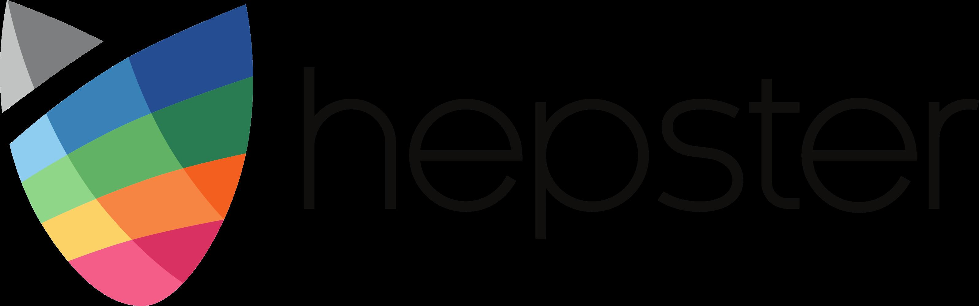 Logo hepster farbig